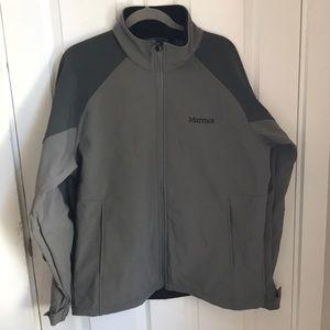 Men's marmot GRAY waterproof jacket XL